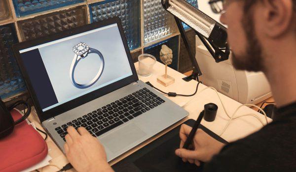 wizualizowanie pierścionków