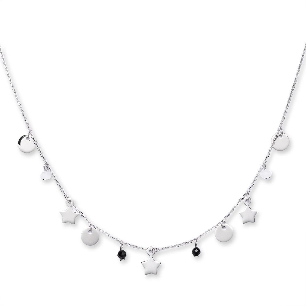 naszyjniki ze srebra z gwiazdkami